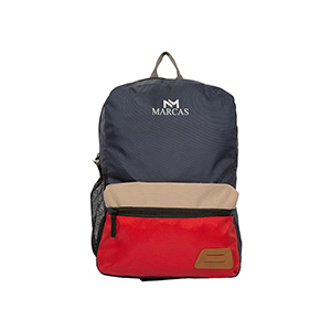 Marcas Blue & Red Backpack