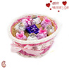 Pink Ribbon basket& Chocolate Hamper.